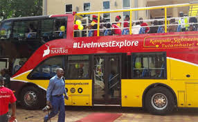 Uganda buses used for tourism