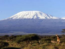 Kilimanjaro mountain in Tanzania