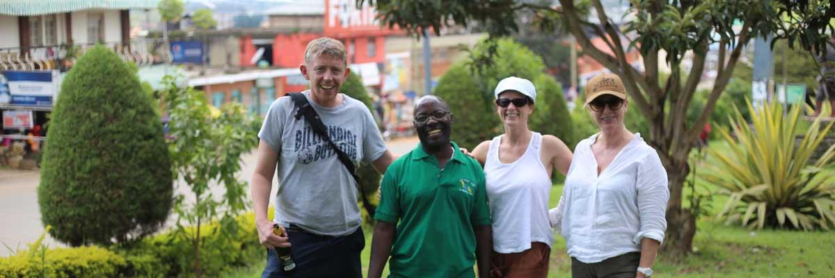 Fort Portal town in Uganda