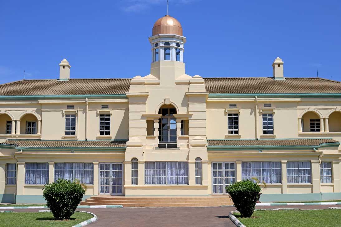 Kabaka's palace in Memgo