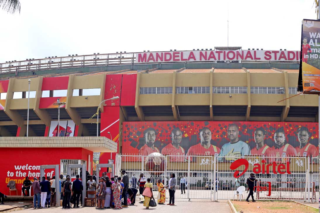 Mandela National stadium Kampala