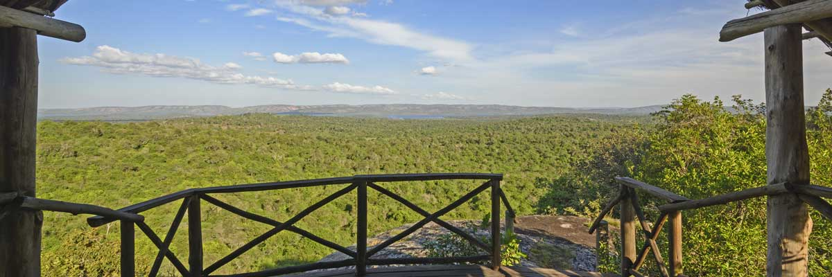 Lake Mburo park scenary