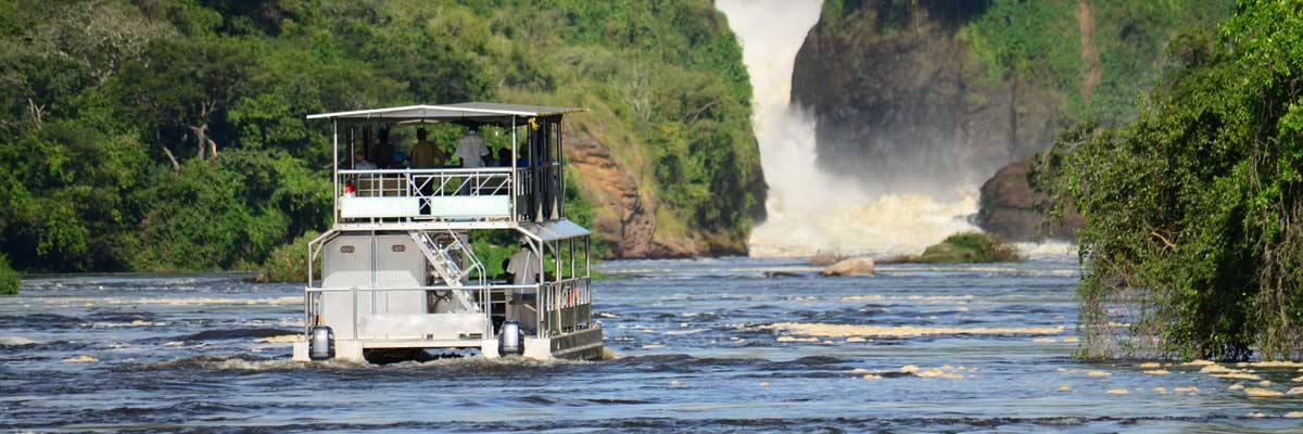 Launch cruise at Murchison Falls National park